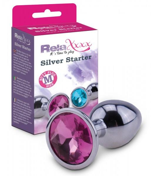 Silver Starter Plug M
