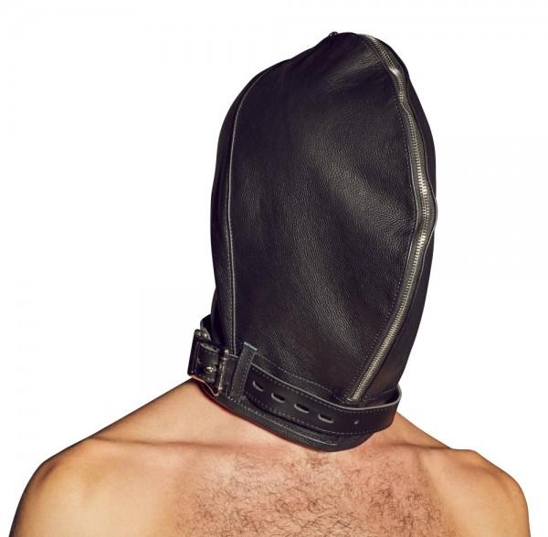 Leder-Doppelmaske