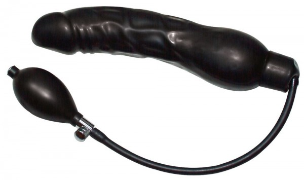 "Pumpdildo ""Black Latex Balloon"""