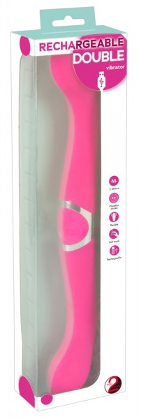 Rechargeable Double Vibrator