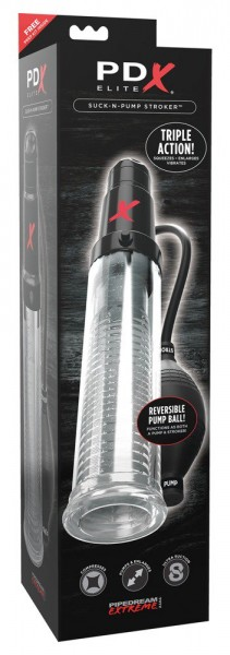 PDX ELITE Suck-N-Pump Stroker