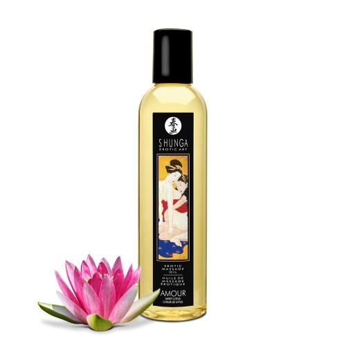 SHUNGA - Massageöl Amour - Sweet Lotus