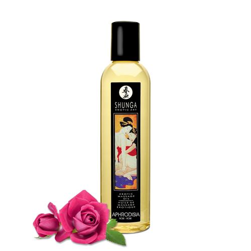 SHUNGA - Massageöl Aphrodisia - Rose