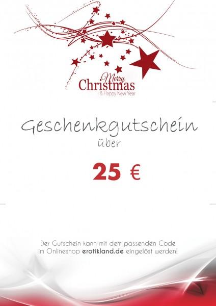 Geschenkgutschein zum Download - Christmas M1