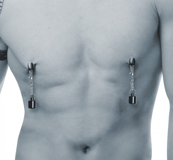 Nipple Clamps with Weights