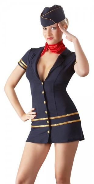 Stewardess-Kleid