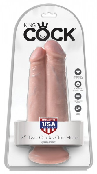 """7"""" Two Cocks One Hole"""