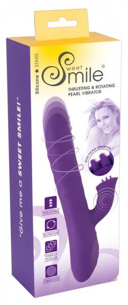 Thrusting & Rotating Pearl Vibrator