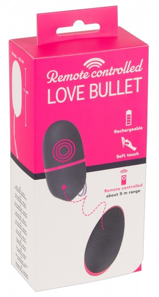 Remote Controlled Love Bullet