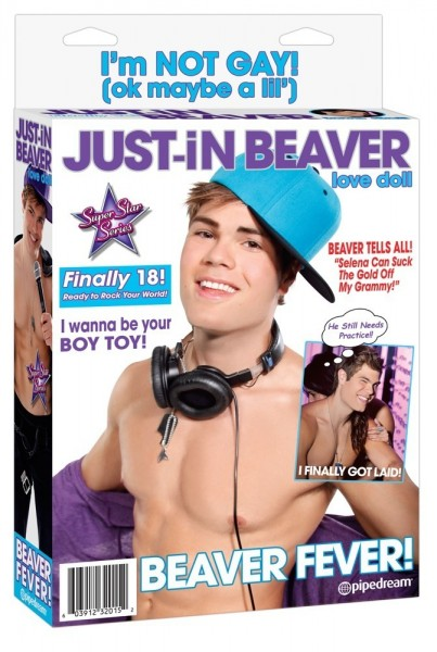 Just-in Beaver Puppe