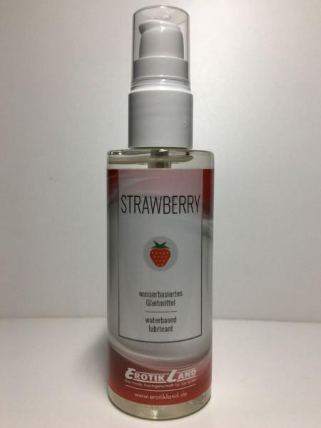 Erotikland - Strawberry - Gleitmittel mit Erdbeeraroma