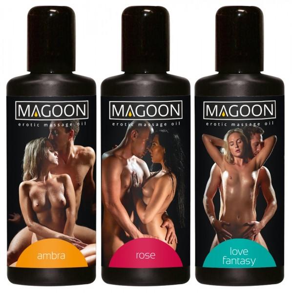 Magoon 3er-Set Massage-Öle